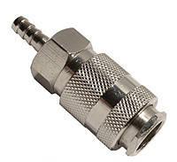Intertool PT-1801 Быстроразъемное соединение на шланг 6мм
