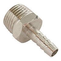 Intertool PT-1840 Переходник с наружной резьбой 1/2 на шланг 8 мм