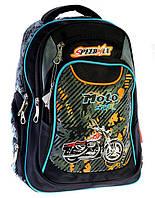 Ранец Рюкзак  школьный для подростка МОТО 17-2838-1