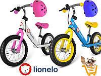 Детский велосипед с шлемом Lionelo Dex