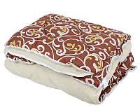 Одеяло овечья шерсть евро размера вензель оптом и в разницу, фото 1
