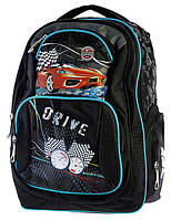 Ранец Рюкзак  школьный для подростка Hot Wheels 17-2838-2