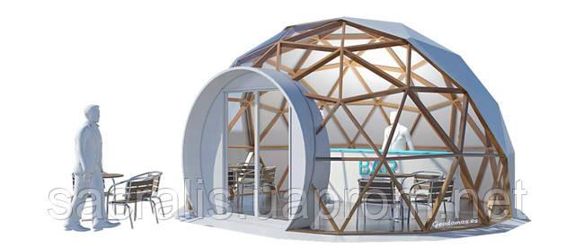 Купольные конструкции для брендинга и мероприятий.