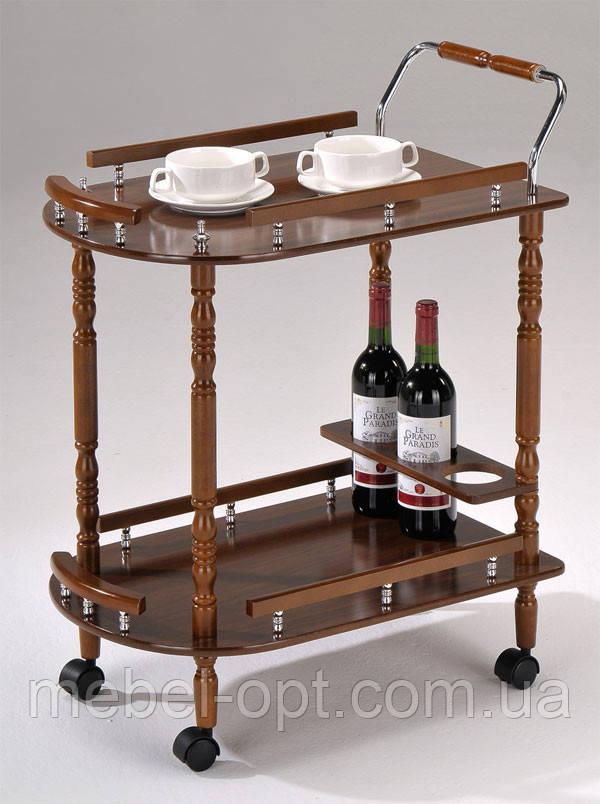 сервировочный столик на колесиках W 17 Sc 5512 сервировочная тележка деревянная на колесиках