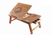 Бамбуковый столик для ноутбука Т25