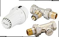"""Danfoss RAE+RA-N+RLV-S комплект тройной подключения радиатора (013G5174) прямой 1/2"""""""
