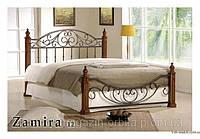 Кровать кованная, железная Замира (Zamira-12)
