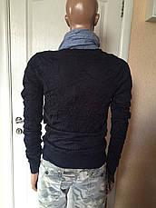 Кофта мужская стильная серая синяя брендовая Antony Morato, фото 2