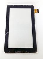 Оригинальный тачскрин / сенсор (сенсорное стекло) для планшета 7'' 186*111 30pin без камеры(черный самоклейка)