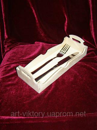 Подставка для вилок и ножей, Фражейница (10 х 25,5 см), фото 2