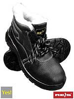 Защитные рабочие ботинки REIS BRYES-TO-SB утепленные.
