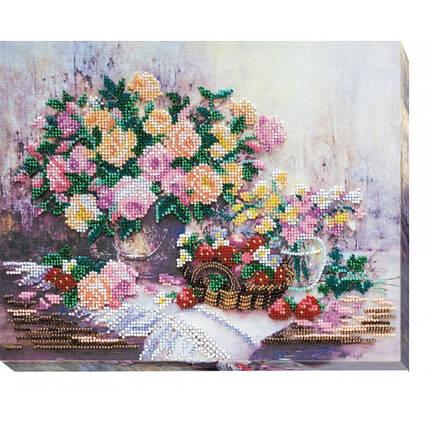 """Набор для вышивания бисером """"Розовая дымка."""", фото 2"""