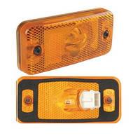 07209Габаритный фонарь  24V желтый ДАФ,Рено,Ивеко/4169 DAF