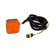 Повторитель габарита диодный LED для man желтый с проводом (LD 097)/AT-5300/346 man