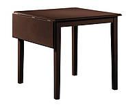 Обеденный стол Фишер, раскладной, 750(+250)х750х750 (венге)