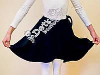 Детская юбка с запахом (хитон) для танцев