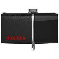 USB флеш накопитель SANDISK 32GB Ultra Dual Drive OTG Black USB 3.0 (SDDD2-032G-GAM46)
