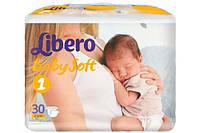 Libero Baby Soft Newborn1 30 шт. (2-5 кг)