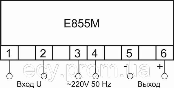 Е855 М - Измерительный преобразователь напряжения переменного тока, фото 2