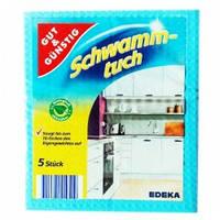 Салфетки — мочалки Gut & Günstig Schwamm-tuch 5 шт