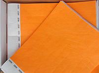 Контрольный браслет на руку Tyvek «Неон» оранж