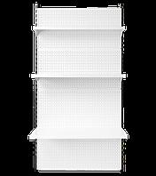 Стелаж настінний приставий 1900*950 мм, Стеллаж настенный приставной 1900*950 мм