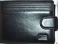 Мужские кожаные кошельки MeliGer (ЧЕРНЫЙ), фото 1