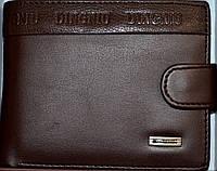Мужские кошельки и портмоне кожаные DinGniu (КАШТАН)