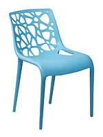 "Пластиковый стул ""Корал"" синий"