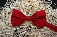 Галстук бабочка ручной работы - Classic Red