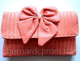Сумка - клатч Лиана персиковая