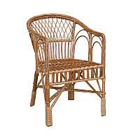 Кресло плетенное из лозы КО 7