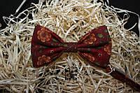 Галстук бабочка ручной работы - Parlo Italiano