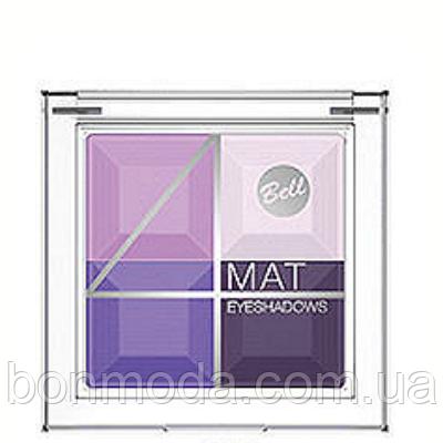 Тени для век многоцветные матовые Bell 4 Mat № 06