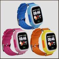 Детские умные часы с GPS трекером Q100. Новая улучшенная модель. Отличное качество. Код: КГ455