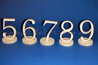 Цифра 5 (высота 10см.) заготовка для декора