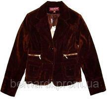 Пиджак вельвет шоколад M,L,XL