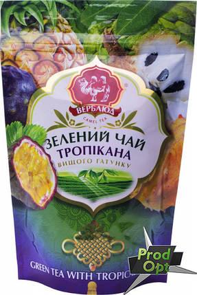 Чай зелений Верблюд з тропічними фруктами 80г м/у  , фото 2