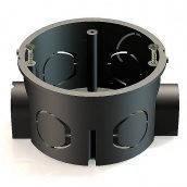 Коробка для внутреннего монтажа разветвленная D 70 мм гипсокартон (металлическое крепление)