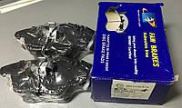 Колодки тормозные передние Volkswagen Caddy FAW Brakes FAW23587.20.3