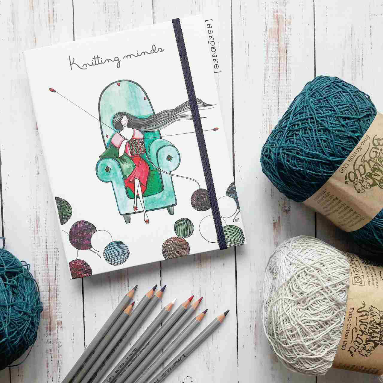 блокнот вязальщицы Knitting Minds цена 200 грн купить в херсоне