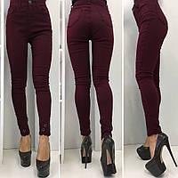 Стрейчевый брюки с узором (4 цвета) больших размеров (с42 по 52)