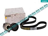 Комплект ремня генератора (шкив натяжитель ролик ремень) 117203694R Nissan KUBISTAR 1997-2008, Renault KANGOO 1997-2007, Renault CLIO III, Renault