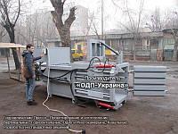 Пресс Горизонтальный 40 тонн - Гидравлический для макулатуры и пластика, ПЭТ тары