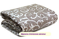 Оригинальное закрытое одеяло овечья шерсть (Бязь) вензель хит сезона, фото 1