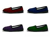 Туфли домашние женские Трикотаж Литма