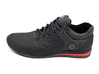 Мужские кожаные кроссовки Ecco  Natur Motion Biom 15 BLACK