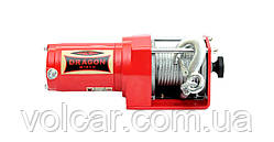 Электрическая лебедка Dragon Winch DWM 2500 ST на квадроцикл