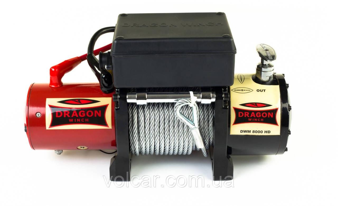 Лебедка автомобильная Dragon Winch DWM 8000HD