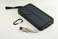 Портативное зарядное устройство Power Bank Solar 32800mAh + Светильник